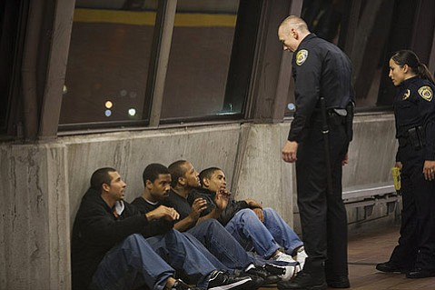 <b>LAST DAYS:</b>  Michael B. Jordan (<i>The Wire, Friday Night Lights</i>) gives a stellar performance as Oscar Grant, the real-life shooting victim of a BART police officer, in <b>Fruitvale Station</b>.