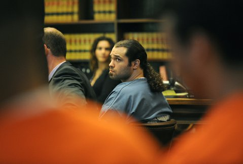 Michael 'Psycho Mike' Cardenas, named in the city's proposed gang injunction, is sentenced to 15 years to life in prison for the 2010 murder of George Ied