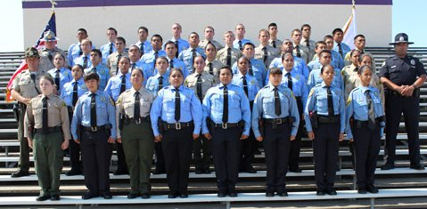 41 Cadets representing six local law enforcement agencies graduate from the Law Enforcement Explorer Academy in Santa Maria on Saturday, June 27th at Ernest Righetti High School in Santa Maria.