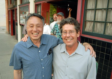 Tommy Chung and Willy Gilbert