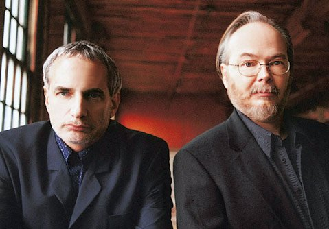 <b>TOGETHER AGAIN:</b>  Steely Dan (from left: Donald Fagen and Walter Becker) return to the road for the Mood Swings: 8 Miles to Pancake Day Tour, which brings them to the Santa Barbara Bowl on August 20.