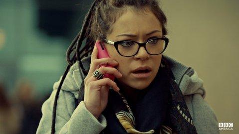 Tatiana Maslany stars in BBC America's <em>Orphan Black</em>.