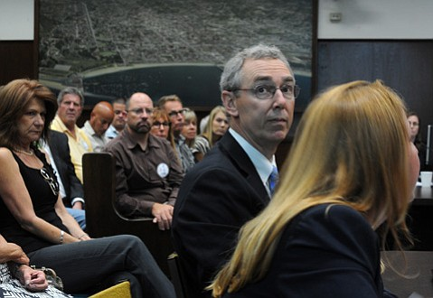 <b>EN MASSE:</b>  The Board of Realtors packed the council chambers to repeal the ordinance requiring zoning information reports when properties change hands.