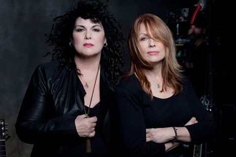 <b>SISTERLY LOVE:</b>  Ann (left) and Nancy Wilson bring Heart to the Santa Barbara Bowl on August 27.