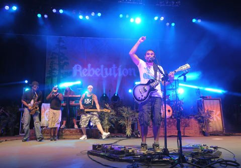 Rebelution at the Santa Barbara Bowl