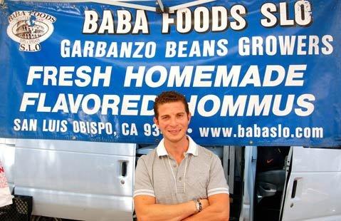 Moez Bensalem of Baba Foods SLO