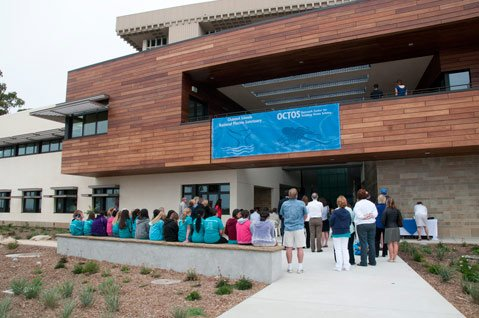 Public opening for Sanctuary offices in the Marine Education Bldg. at UCSB