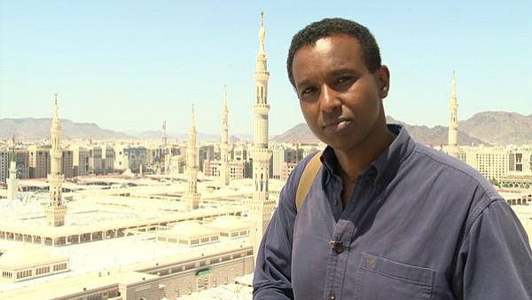 Rageh Omaar retraces the footsteps of the prophet in the PBS series <em>Life of Muhammad</em>.