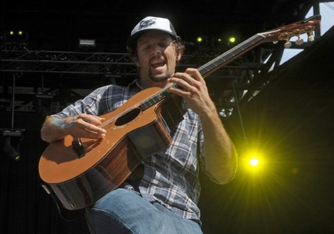 Jason Mraz at the Santa Barbara Bowl