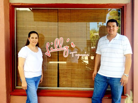 Sonia Guido and Jose Sepulveda plan to welcome hungry customers to the new Lilly's Taquería in Goleta in October.