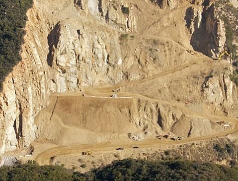 Mosler Rock-Ojai Quarry