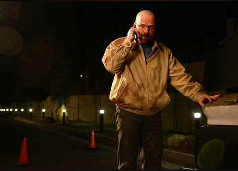 Walt (Bryan Cranston) gets increasingly menacing in the third-to-last episode of <em>Breaking Bad</em>.