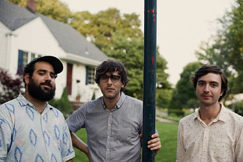 <b>EAST MEETS WEST:</b>  New Jersey's Real Estate (from left: Alex Bleeker, Martin Courtney, and MattMondanile) head to Cali for a string of tour dates this week. They play SOhO Restaurant & Music Club on September 25.