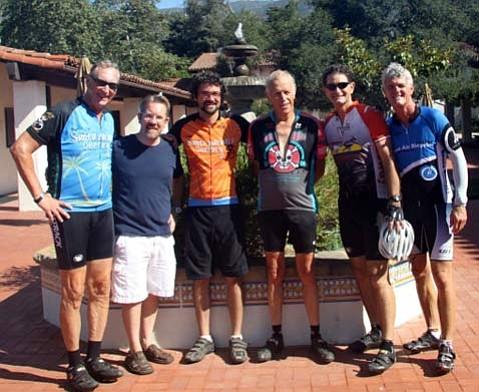 Century Board: (from left) Bill Lindberg, Jon Lemmond , Ed France, Kalon Kelley, Casey Roberts, and Byron Beck