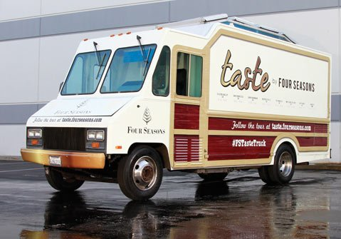 <b>I BRAKE FOR LUNCH:</b> Catch the Four Seasons Food Truck while it's in Santa Barbara.