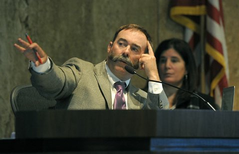 <b>MAKING MOVES:</b>  Fourth District Supervisor Peter Adam is working to get an ordinance on the June 2014 ballot that would force the board to better maintain county-owned roads and facilities.