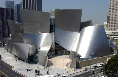 SO L.A.: Frank Gehry's beloved Walt Disney Concert Hall stands proudly among downtown Los Angeles' soaring skyscrapers.