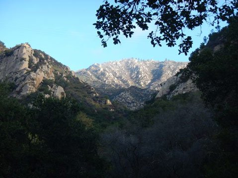 A view of Rattlesnake Canyon from Rocky Ridge.