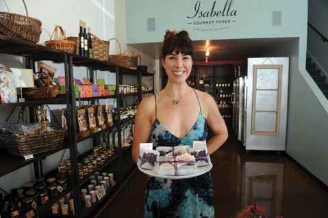 <b>MATCHMAKER:</b> Isabella Gourmet Foods owner Amy Chalker loves bringing area artisans together.