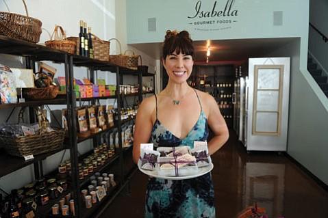 <b>MATCHMAKER:</b> Isabella Gourmet Foods owner Amy Chalker loves bringing area artisans together.