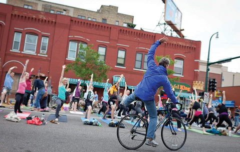 <b>HEALTHY LIFE:</b>  S.B. Open Streets is part of a global movement with the goal of encouraging people to get outside and be active.