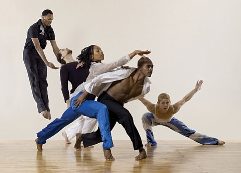 <b>MOVEMENT WITH A MESSAGE:</b> Bill T. Jones/Arnie Zane Dance Company features dancers Erick Montes, I-Ling Liu, Jennifer Nugent, Joe Poulson, LaMichael Leonard Jr., Shayla-Vie Jenkins, and Talli Jackson. The group performs three works at the Granada Theatre on October 16.