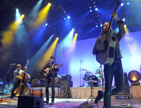 The Avett Brothers at the Santa Barbara Bowl