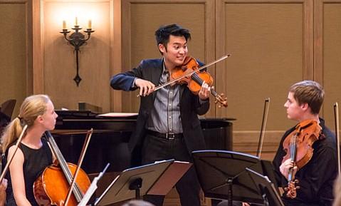 Ray Chen at Hahn Hall