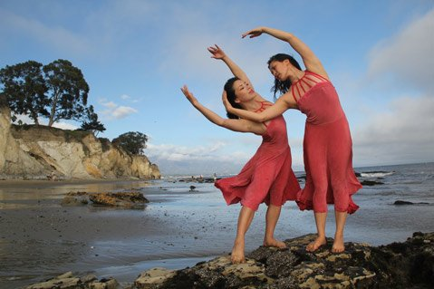 Choreographer and dance filmmaker Robin Bisio will unveil her latest work on Saturday, October 19, on the sand beneath Shoreline Park.
