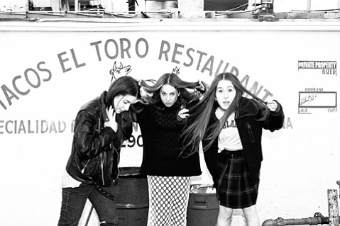 <b>SISTER, SISTER:</b>  The sisters Haim (from left: Danielle, Este, and Alana) bring their catchy, '80s-indebted pop-rock stylings to the Funk Zone as part of New Noise's Saturday Block Party. Haim headlines at 6:35 p.m.