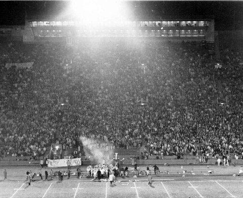 St. Francis High School Coliseum, 1963.