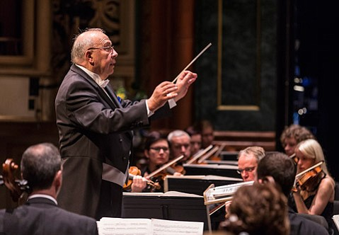 <b>NORTHERN MAESTRO: </b> Neeme Jarvi led the Estonian National Symphony in music by Pärt, Sibelius, and Brahms.