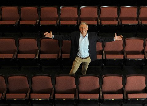 <b>HAVE A SEAT:</b>  Executive Artistic Director Jonathan Fox welcomes audiences to the newly remodeled Victoria Theater, which opens for a gala celebration on Saturday, November 9.