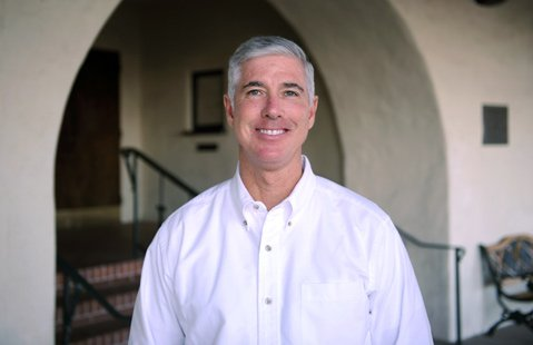 """<b>Fresh Brass:</b>  Charles """"Crash"""" Huff is the second new manager to take over the memorial building in six months."""