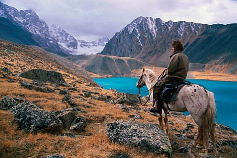 In an ode to the nomads of the region, Australian adventurer Tim Cope retraces Khan's 6,000-mile trek on horseback from Mongolia to Hungary.