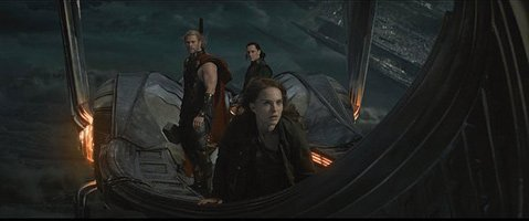 <b>BRO-DOWN: </b><i>Thor: The Dark World</i> stars Chris Hemsworth (left) and Tom Hiddleston as siblings/nemeses Thor and Loki opposite Natalie Portman as the hammer-wielding hunk's mortal honey.