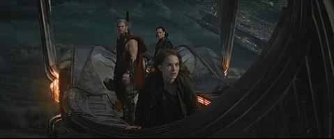 <b>BRO-DOWN: </b><i>Thor: The Dark World</i> stars Chris Hemsworth (left) and Tom Hiddleston as siblings/nemeses Thor and Loki opposite Natalie Portman as the hammer-wielding hunk's mortal honey.