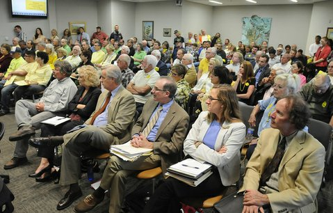 110 public speakers turned out for this week's hearing on the proposed drilling project