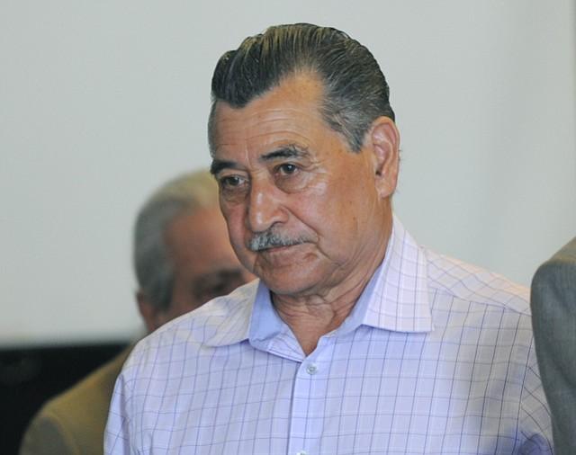 Carlos Ruano at his sentencing hearing