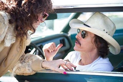 <b>MAGIC MATT:</b>  Matthew McConaughey's performance as real-life AIDS victim Ron Woodroof in <i>Dallas Buyers Club</i> is another one for the books.