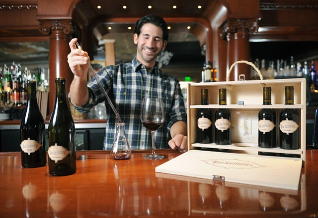 <b>BE THE BLENDER:</b>  Billy Dim's wineblending kits are an awesome gift idea for the oenophile on your list.