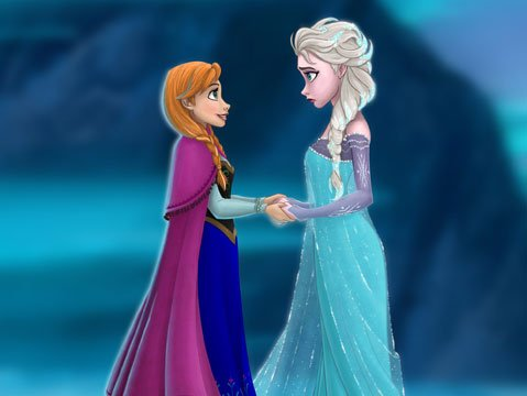 <b>ICE ICE LADY:</b>  Idina Menzel voices Elsa the Snow Queen in Disney's latest animated spectacle, <i>Frozen</i>.