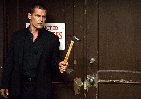 <b>HAMMERTIME:</b>  A businessman (Josh Brolin) seeks the person responsible for his unexplained 20-year captivity in Spike Lee's remake of South Korean cult classic <em>Oldboy</em>.