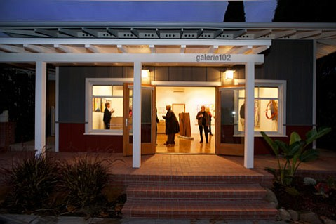 <b>NIGHT TALKS:</b> Ojai's Galerie 102 lights up the night with its new Conversation Series.