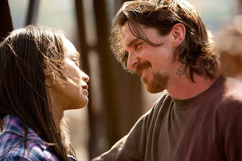 <b>INTO THE MIRE:</b> Despite solid performances from its lead Christian Bale and costar Zoe Saldana, Out
