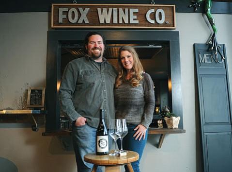 The Funk Zone's Art Foundry welcomes Fox Wine Co., run by Santa Barbara natives Blair and Sarah Fox.