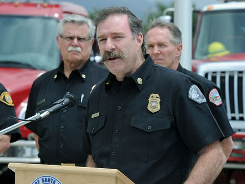 Mike Mingee, Chief of the Carpinteria-Summerland Fire Protection District