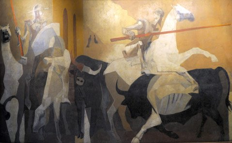 <b>SNEAK A PEAKE:</b> Santa Barbara's preserved murals include a collaboration by greats Channing