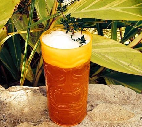 Rum's the inspiration for the Mele Kalikimaka.