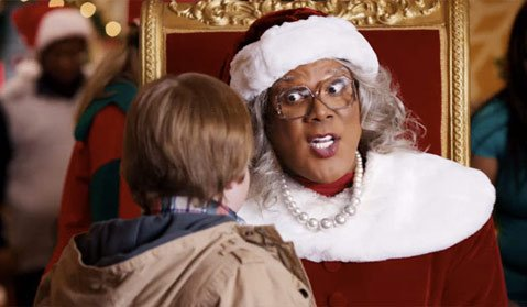 <b>PERRY CHRISTMAS:</b>  Tyler Perry wrote, directed, and plays the title character in <i>A Madea Christmas</i>.